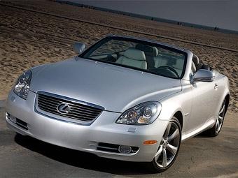 Lexus завершит выпуск кабриолета SC специальной серией