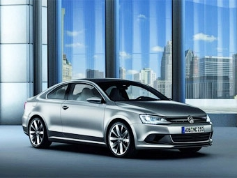 Volkswagen представил в Детройте компактное купе
