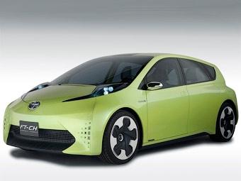 В Детройте дебютировал прототип нового гибрида Toyota
