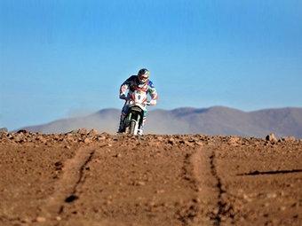 """Чилийский мотогонщик выиграл еще один этап """"Дакара-2010"""""""