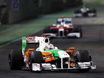"""Force India пропустит первые тесты """"Формулы-1"""""""