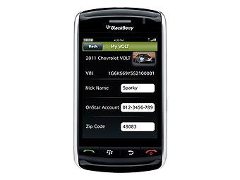 Гибридом Chevrolet Volt можно будет управлять по телефону