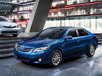 Toyota Camry стала самым продаваемым автомобилем в США