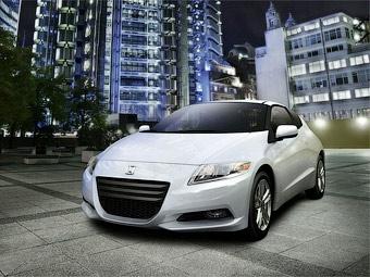 В США представили двухместный гибридный хэтчбек Honda CR-Z