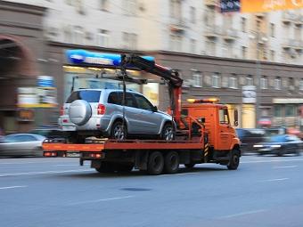 За два месяца в Москве эвакуировали 25 тысяч машин