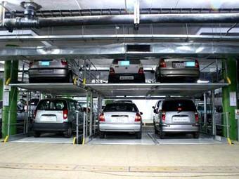 В центре Москвы построят 100 механизированных паркингов