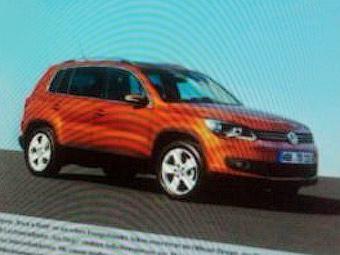 Появилось первое изображение обновленного Volkswagen Tiguan