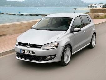 VW Polo вошел в тройку самых популярных автомобилей в Европе