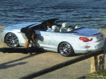 """Новую """"шестерку"""" BMW сфотографировали без камуфляжа"""