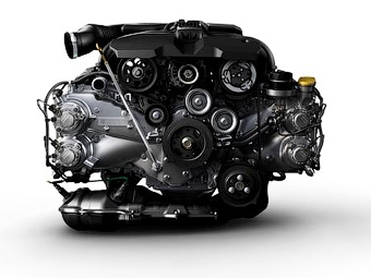 Компания Subaru представила новый оппозитный двигатель