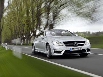 Mercedes-Benz рассекретил AMG-версии обновленного купе CL
