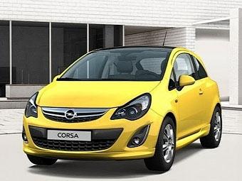 В сети появились изображения обновленного хэтчбека Opel Corsa