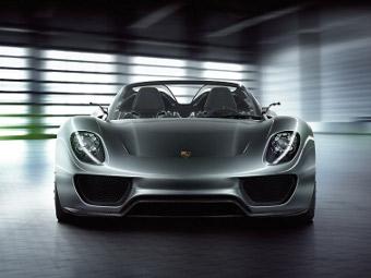 Гибридный суперкар Porsche на неделю попадет в музей