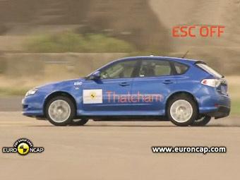 Организация Euro NCAP проверила системы стабилизации у 40 автомобилей
