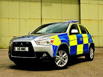 Полицейские Великобритании получат внедорожники Mitsubishi
