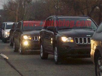 Появилась первая фотография нового Jeep Compass