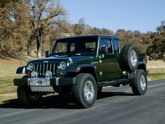 Компания Jeep возобновит выпуск пикапов