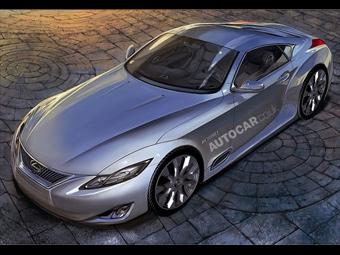 Lexus будет выпускать гибридный купе-кабриолет