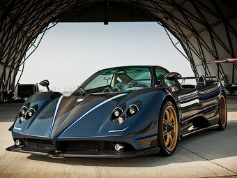 Компания Pagani построила эксклюзивную версию суперкара Zonda Cinque
