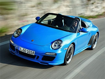Марка Porsche распродала все экземпляры эксклюзивной версии модели 911