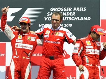 Команда Ferrari избежала дополнительных санкций за применение командной тактики