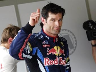 Марк Уэббер продлил контракт с командой Формулы-1 Red Bull