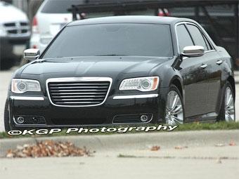 Фотошпионы рассекретили новый Chrysler 300C