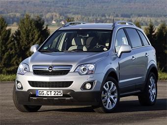 Обновленный кроссовер Opel Antara стал мощнее