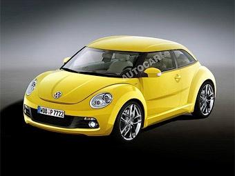 Прототип нового VW Beetle покажут в ноябре