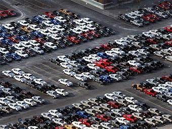 Лидером по продажам машин в Европе стал концерн Volkswagen