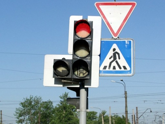 В Москве установят 121 новый светофор