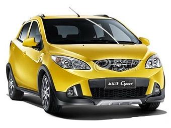 В Китае будут выпускать внедорожную версию хэтчбека Mazda2