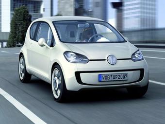 Серийную малолитражку VW Up! представят на Франкфуртском автосалоне