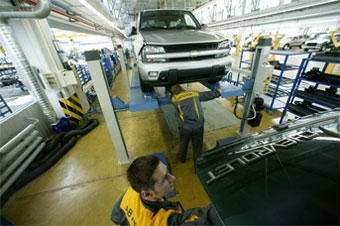 """Автотор"" увеличит производство машин в 2,3 раза"