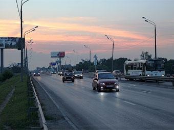 Власти Химок попросили ограничить движение грузовиков по Ленинградке