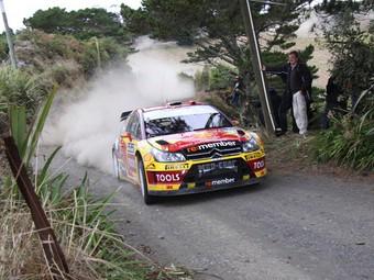 Петтер Сольберг восстановил машину после аварии на Ралли Новой Зеландии