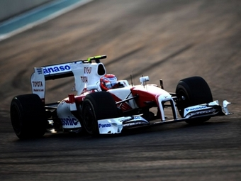 Команда Формулы-1 HRT перейдет на болиды Toyota