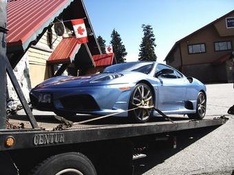 Канадские власти конфисковали Ferrari и BMW у водителей за превышение скорости