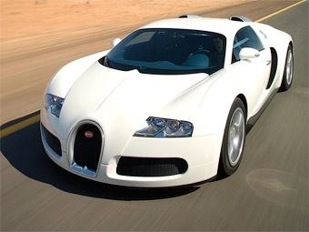 За превышение скорости у 20-летнего водителя конфисковали Bugatti Veyron