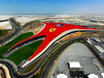 Открытие парка аттракционов Ferrari World отложили из-за смерти шейха