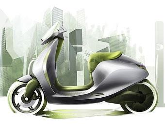 Smart и MINI показали электрические скутеры