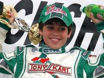 Команда Ferrari подписала контракт с 11-летним гонщиком