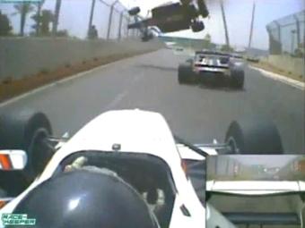 Иван Самарин в Формуле-2 набрал очки и побывал в серьезной аварии