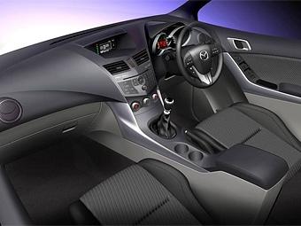 Появилось первое изображение интерьера нового пикапа Mazda