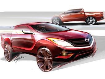 Mazda готовит к дебюту пикап BT-50 нового поколения