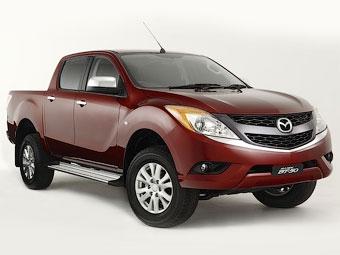 Рассекречен пикап Mazda BT-50 нового поколения