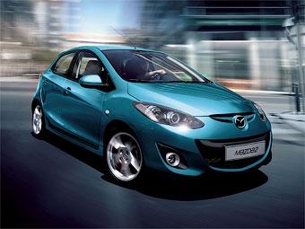 В Париже покажут обновленный хэтчбек Mazda2