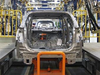 Производство легковушек в России увеличилось в 1,7 раза