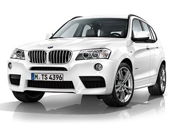 Новый BMW X3 обзавелся М-пакетом