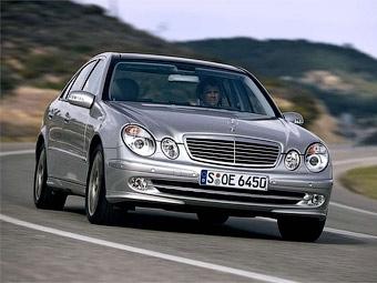 У Mercedes-Benz E-Class обнаружили проблемы с подушками безопасности